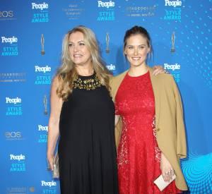 Bar Refaeli et sa mère, Tzipi Levine, en mars dernier.