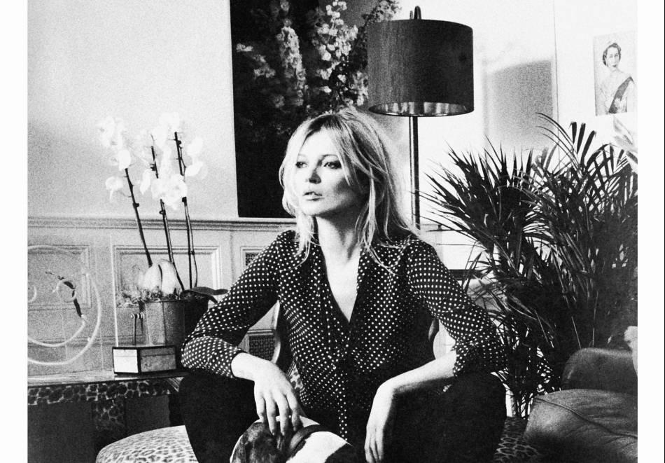 Kate Moss collabore avec la marque Equipment pour une collection capsule.