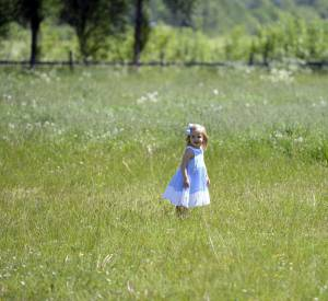 La princesse Leonore de Suède, petite fille modèle.