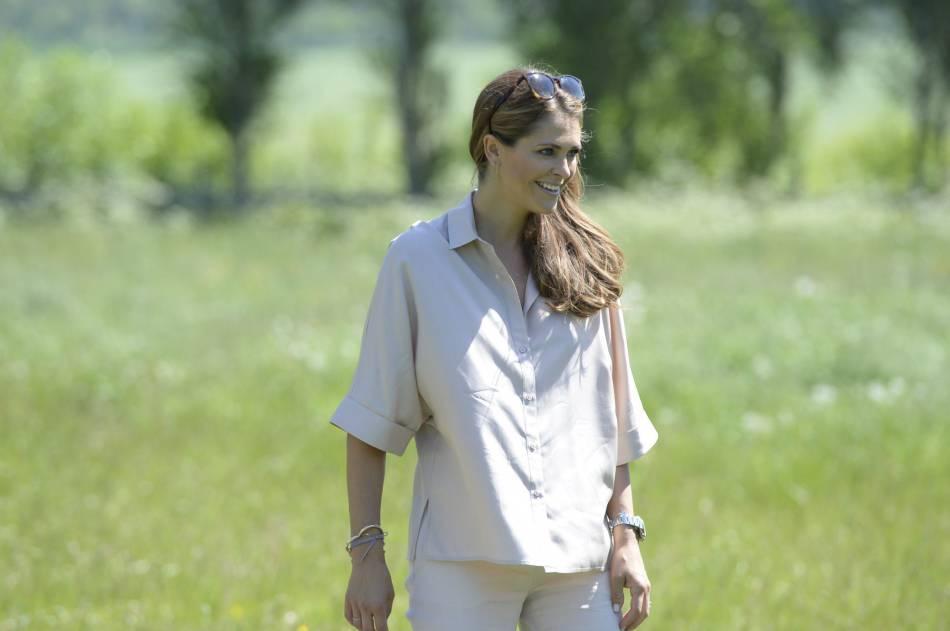 Madeleine de Suède, une princesse moderne et radieuse.