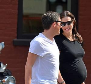 Elle a été aperçue dans les rues de New-York en compagnie de son fiancé David Gardner.