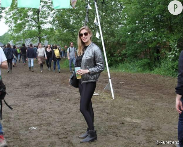 Agathe porte une veste H&M x Isabel Marant.