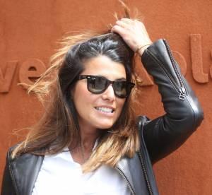 Karine Ferri, jeune maman sensuelle dans un selfie cheveux au vent sur Instagram
