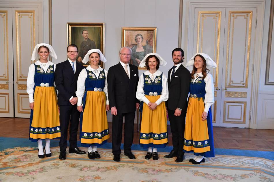 Le 6 juin 2016 s'est déroulé la fête nationale de Suède, avec une cérémonie placée sous le signe de la tradition... Et du kitsch.