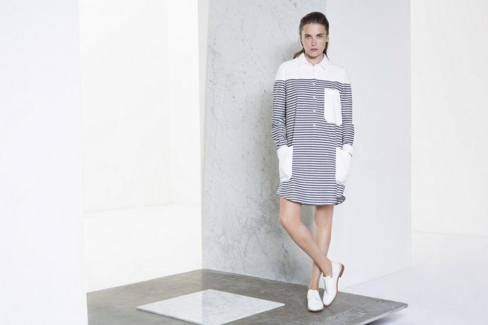 Robe chemise, Margaux Lonnberg, 208€.