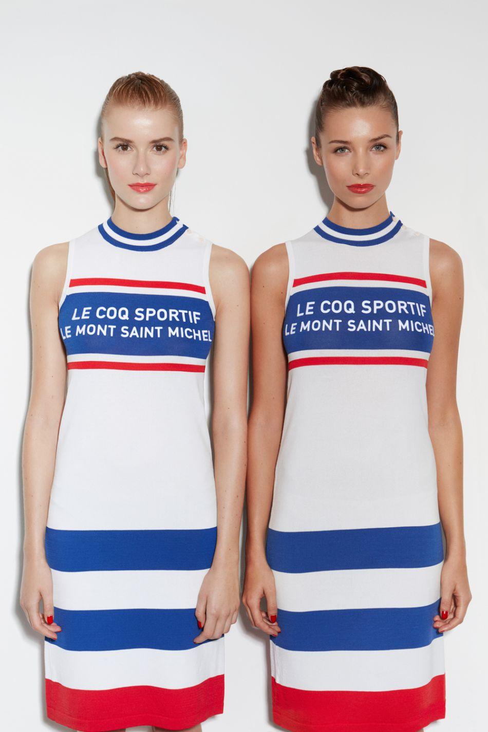 Robe sport, Le Coq Sportif x Le Mont Saint Michel, 225€.