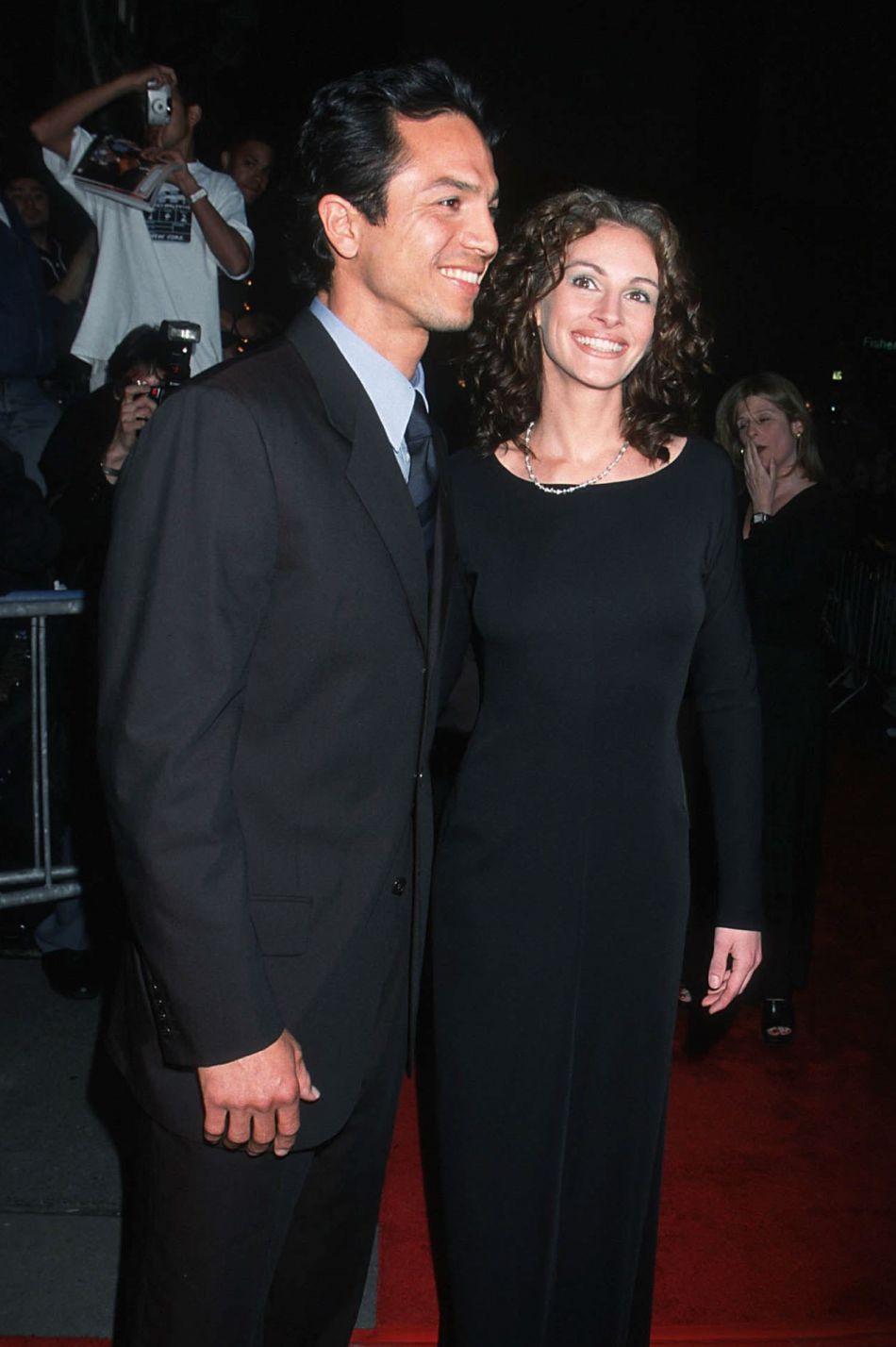 Julia Roberts et Benjamin Bratt, avec qui elle a été en couple de 1998 à 2001.