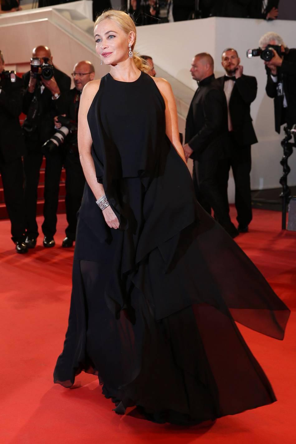 Emmanuelle Béart a éblouit Cannes 2016.