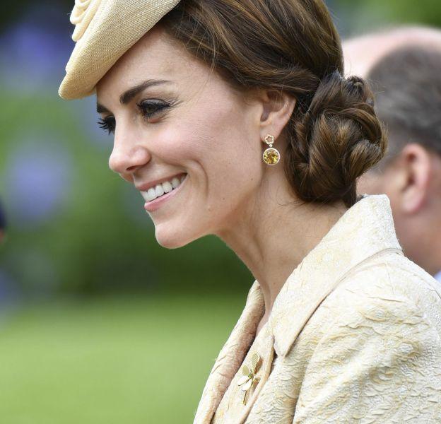 Kate Middleton a retrouvé le sourire lors de la garden party en Irlande du Nord, ce 14 juin après-midi.