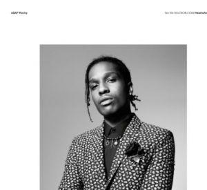 A$AP Rocky pour Dior, dandy idéal du XXIème siècle.