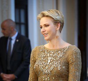 Charlène de Monaco : une princesse précieuse en robe de cocktail dos nu