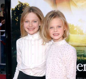 Elle Fanning et sa soeur Dakota