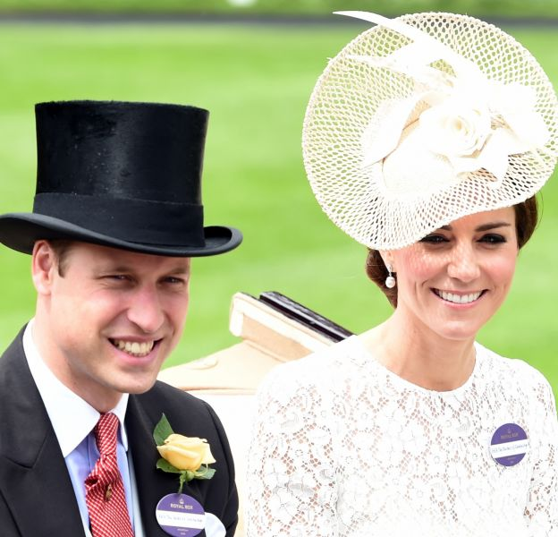 Kate Middleton a brillé en blanc au Royal Ascot.