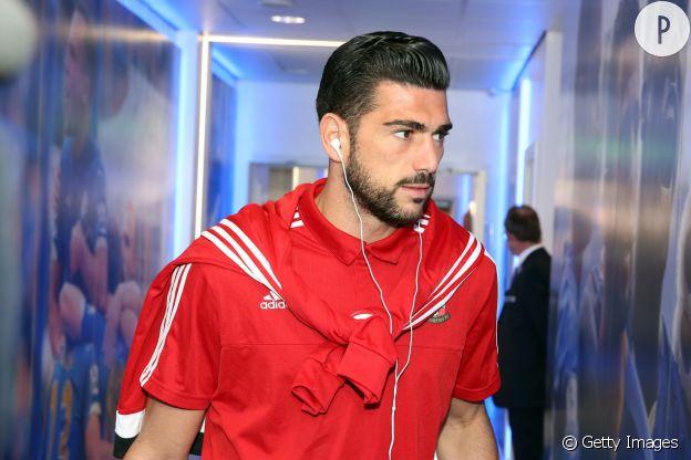 Graziano Pelle de l'équipe d'Italie.