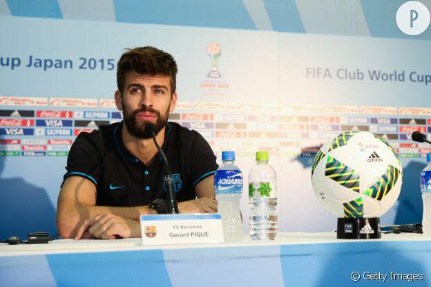Gérard Piqué de l'équipe d'Espagne.