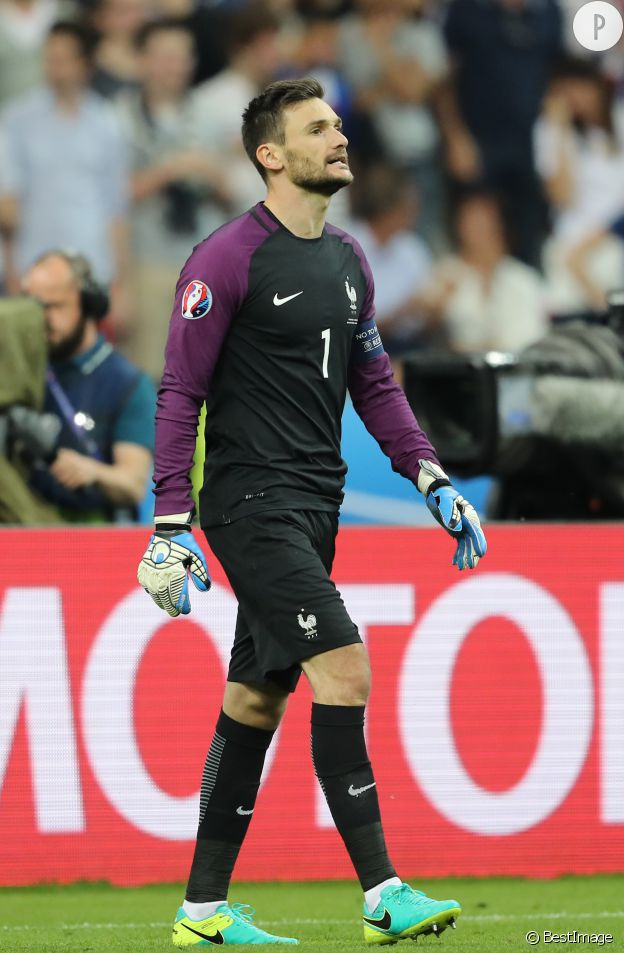 Hugo Lloris de l'équipe de France.