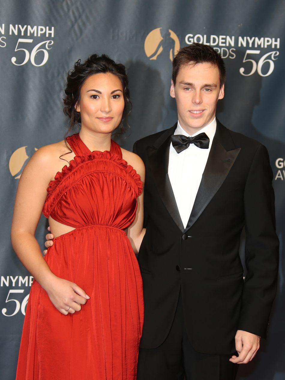 Nouveau couple glamour de Monaco, Marie et Louis brillent sur le red carpet.