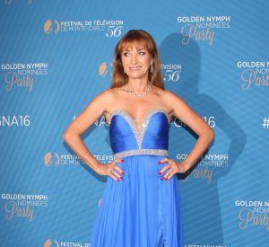 Jane Seymour lors de la soirée des nominations aux Nymphes au Monte-Carlo Bay Hotel & Resort lors du 56e festival de télévision de Monte-Carlo, le 15 Juin 2016.