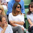 A la fin de la saison, elle a été aperçue dans les tribunes de Roland Garros en mai dernier.