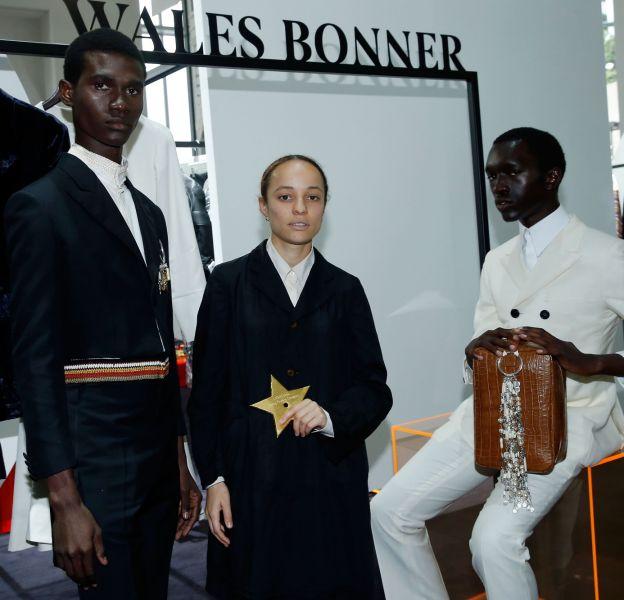 Grace Wales Bonner gagne 300 000 euros ainsi qu'une année de mentorat.