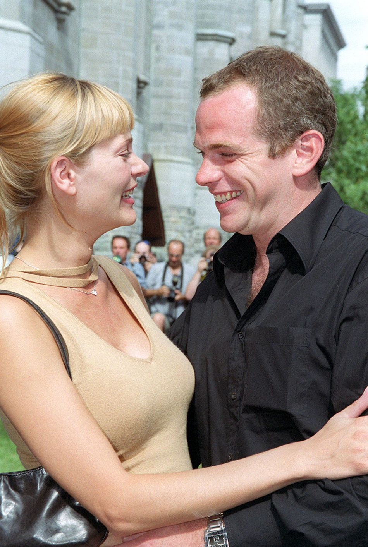 Garou et sa compagne de 2000 à 2006, Ulrika. Ensemble, ils ont eu une fille, Emelie, née en 2001.