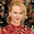 """En 2001, Nicole Kidman assure la promotion de """"Moulin Rouge !"""" de Baz Luhrmann."""
