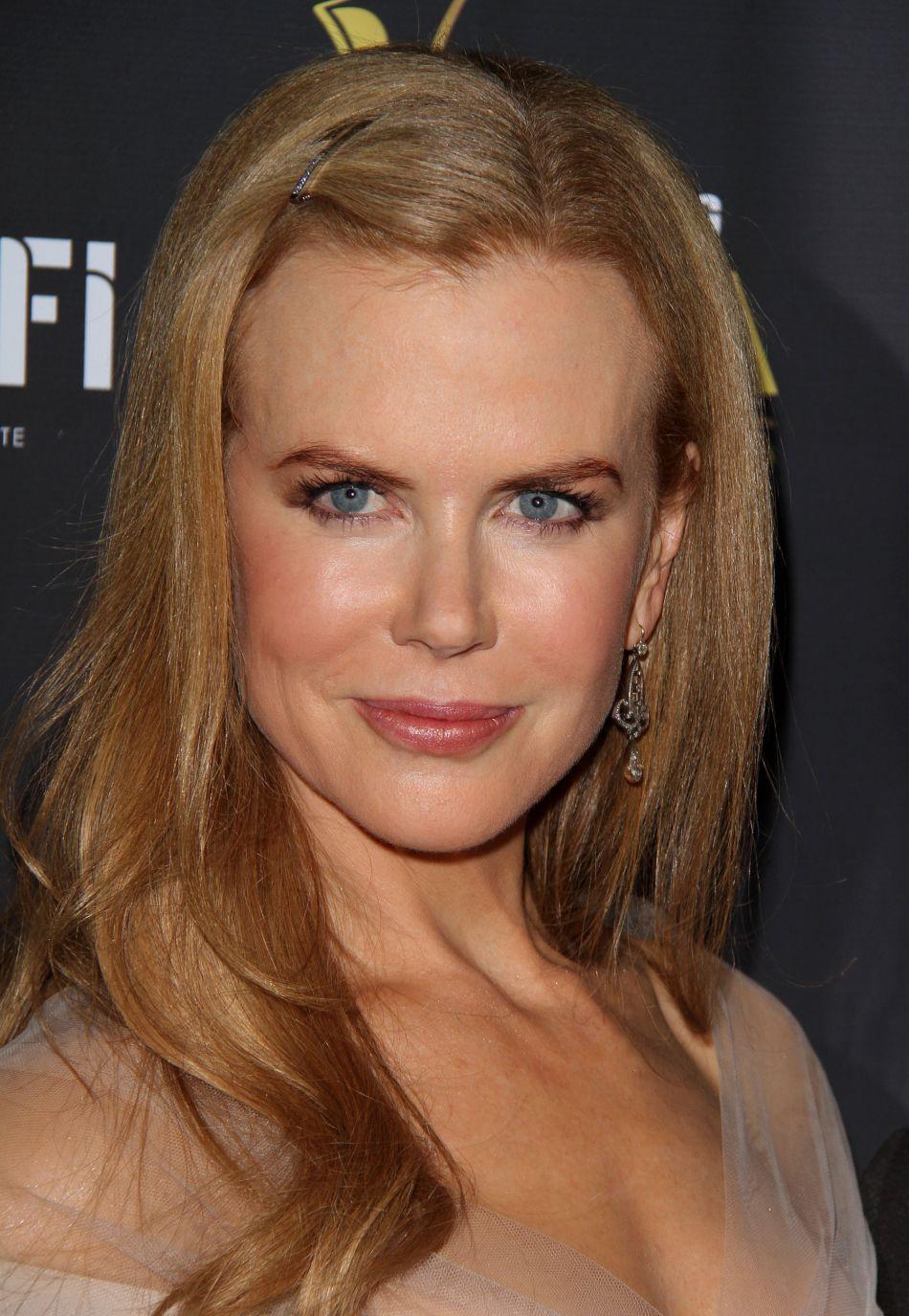 En janvier 2012, c'est une Nicole Kidman bronzée qu'on retrouve sur le tapis rouge.