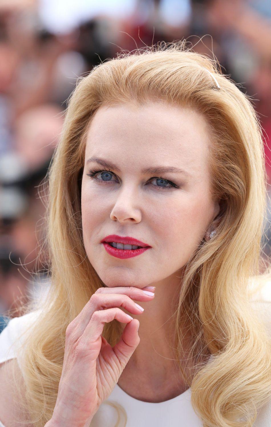 Sur la Croisette en 2014, Nicole Kidman affiche une fois de plus ce front ultra lisse où rien ne bouge.