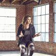 Caitlyn Jenner pour H&M Sport dans un legging de la collection.