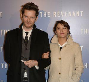 """Emma De Caunes avec son mari Jamie Hewlett à l'avant-première du film """"The Revenant"""" au Grand Rex à Paris, le 18 janvier 2016."""