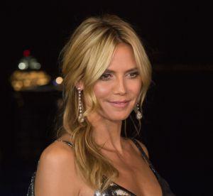 Heidi Klum belle endormie topless