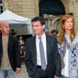 Manuel Valls et Anne Gravoin ont participé aux célébrations de la fête de la musique.