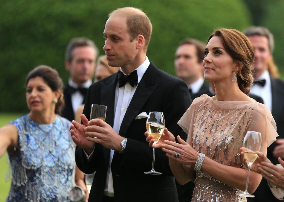Le prince William, duc de Cambridge et Catherine Kate Middleton, la duchesse de Cambridge, très élégants à l'occasion d'un gala de charité.