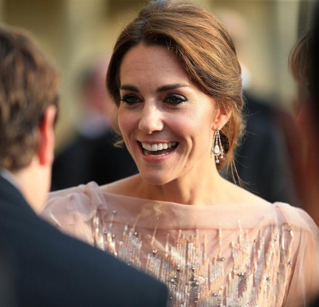 Kate Middleton, superbe lors d'un dîner de gala organisé à Houghton Hall, dans le Norfolk, mercredi 22 juin.