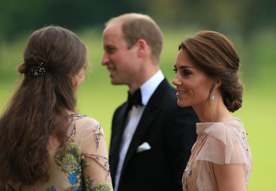 """Le prince William et Kate Middleton ont participé à un dîner de gala de l'association """"East Anglia's Children's Hospices'"""", le 22 juin 2016."""
