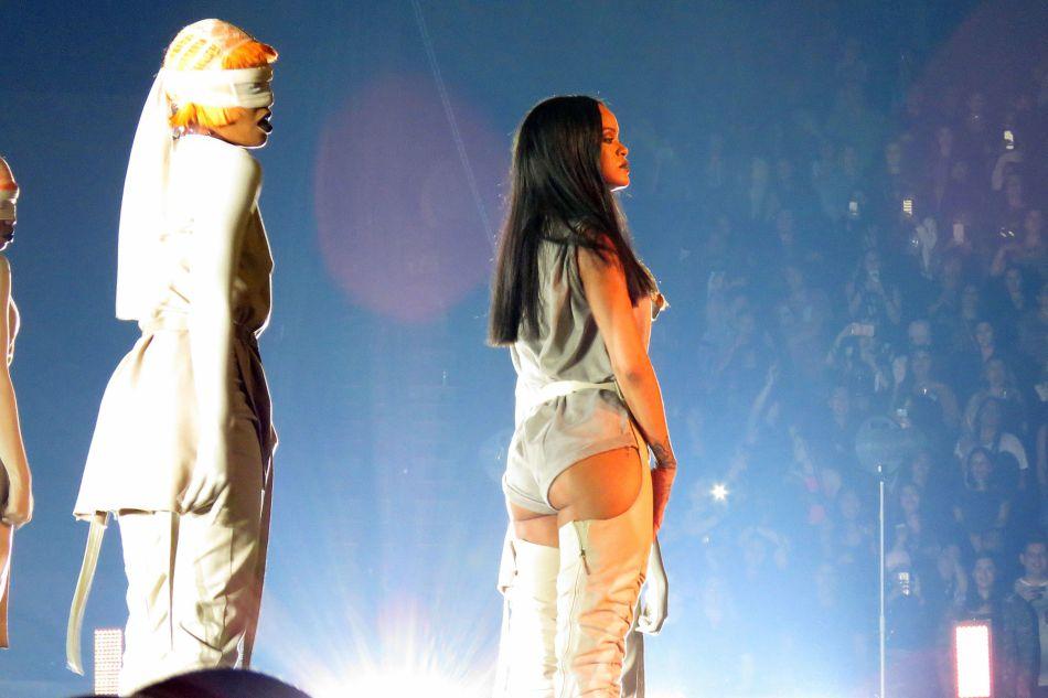 Rihanna en concert.