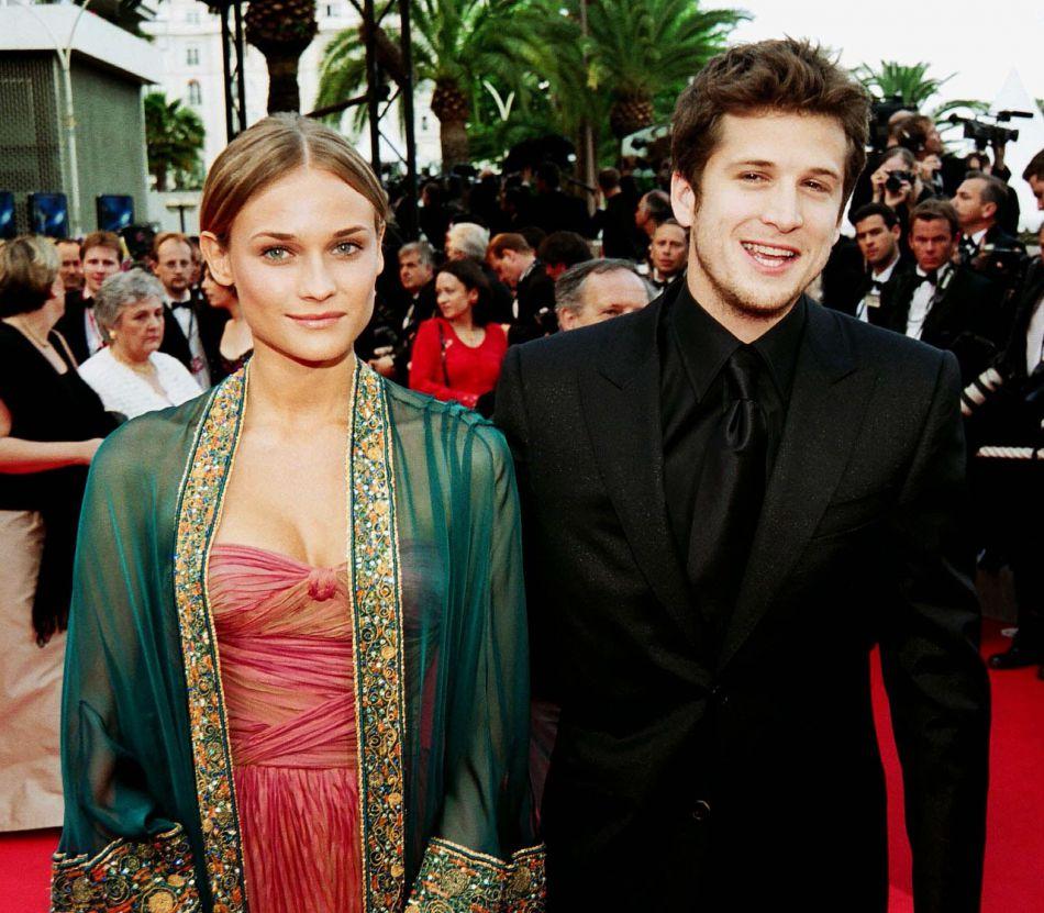 Guillaume Canet et Diane Kruger en 2002. Ils ont été mariés pendant quatre ans.