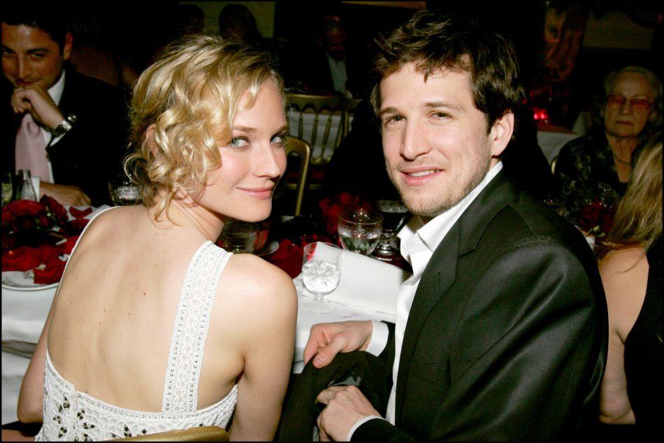Guillaume Canet et la ravissante Diane Kruger, son épouse de 2001 à 2005.