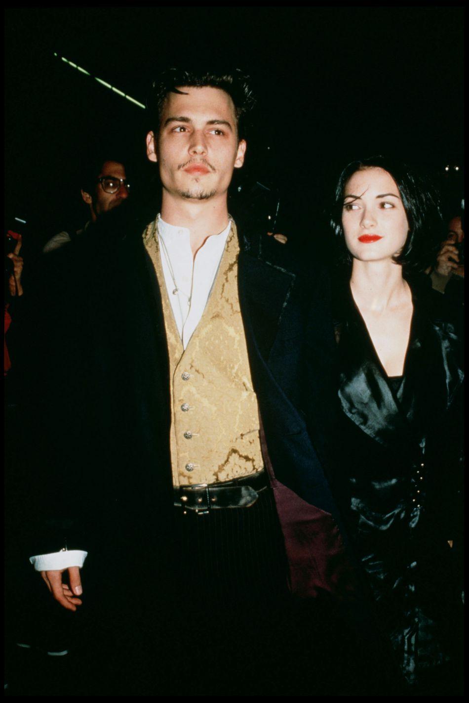 Johnny Depp et Winona Ryder ont vécu une histoire d'amour de quatre ans.