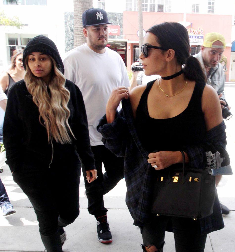 Kim Kardashian et Blac Chyna ont semble-t-il enterré la hache de guerre.