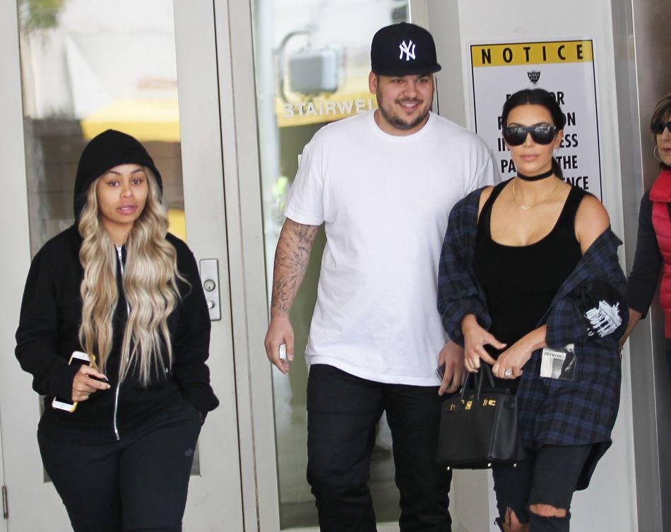 Kim Kardashian et Blac Chyna partageront bientôt le même nom de famille.