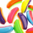 La brosse Tangle Teezer amuse par son design étonnant.