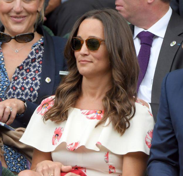 Pippa Middleton a évité de justesse l'accident culotte.