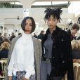 Willow Smith et sa mère Jada Pinkett en front row chez Chanel.