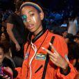 En combinaison orange et avec un make up très pop, Willow Smith se fait remarquer aux MTV Music Video.