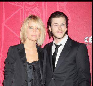 Gaspars Ulliel et Jordane lors de leur première sortie officielle en 2009 pour les César.