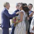 Michelle Obama adopte une robe plutôt longue et mise sur la sécurité ! Ses filles ont pris plus de risque.