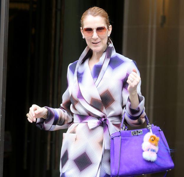 Céline Dion arbore un look pétillant et coloré. Elle ose enfin !