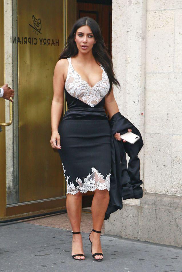 Kim Kardashian Ses Fesses Ne Seraient Pas Si Parfaites