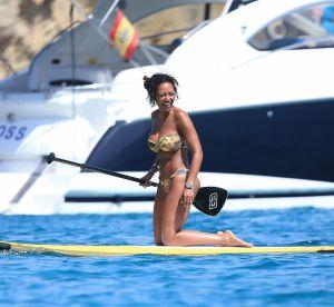 Mel B : sur un paddle à Ibiza, l'ex-Spice Girls dévoile son corps sexy
